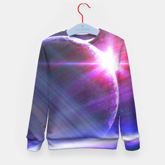 Thumbnail image of Parallel world Kid's Sweater, Live Heroes
