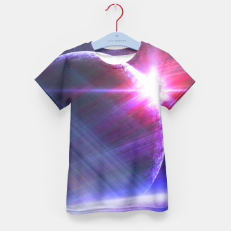 Thumbnail image of Parallel world Kid's T-shirt, Live Heroes