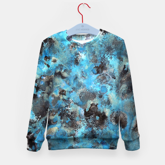 Thumbnail image of Blue blur Kid's Sweater, Live Heroes