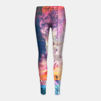 Thumbnail image of Archipelago Girl's Leggings, Live Heroes