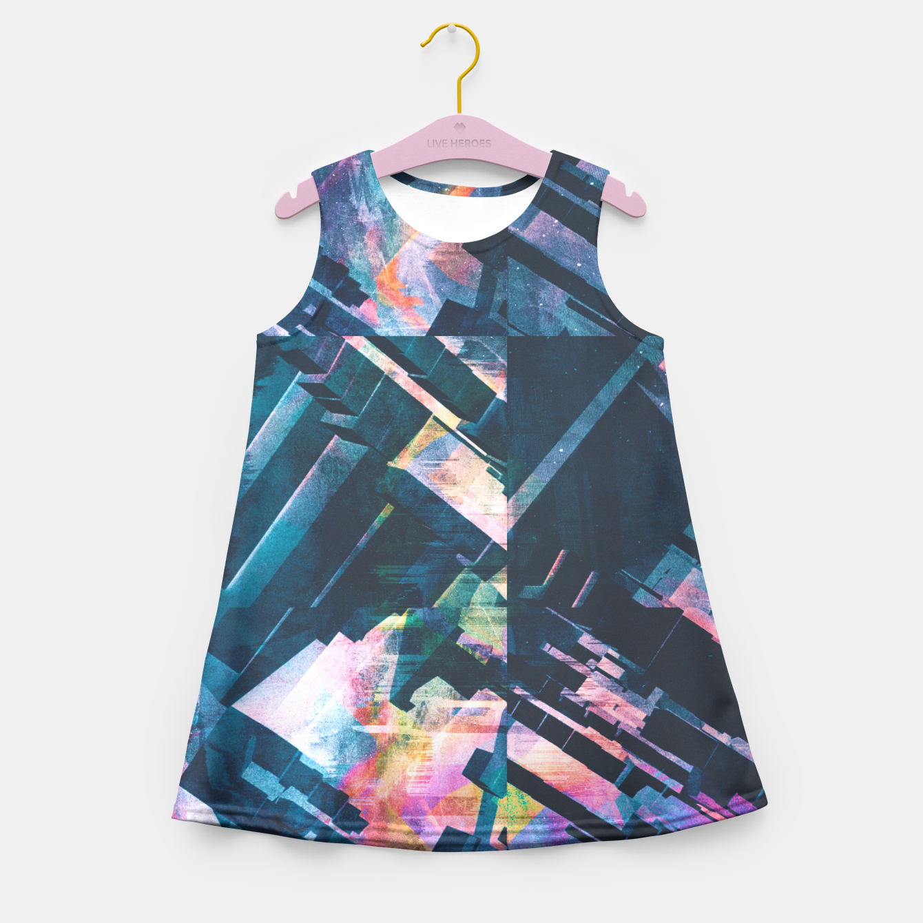 Image of Logic Girl's Summer Dress - Live Heroes