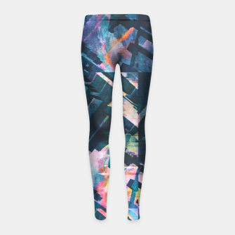 Thumbnail image of Logic Girl's Leggings, Live Heroes