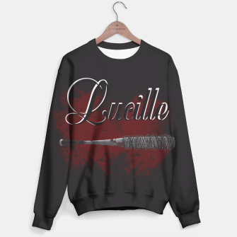 Thumbnail image of Bloodthirsty Lucille Sweater, Live Heroes
