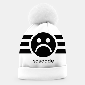 Thumbnail image of Saudade Black Stripes Beanie, Live Heroes
