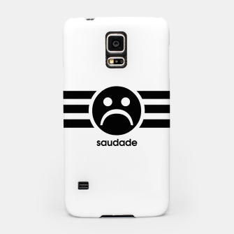 Thumbnail image of Saudade Black Stripes Samsung Case, Live Heroes