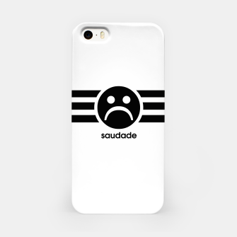 Thumbnail image of Saudade Black Stripes iPhone Case, Live Heroes