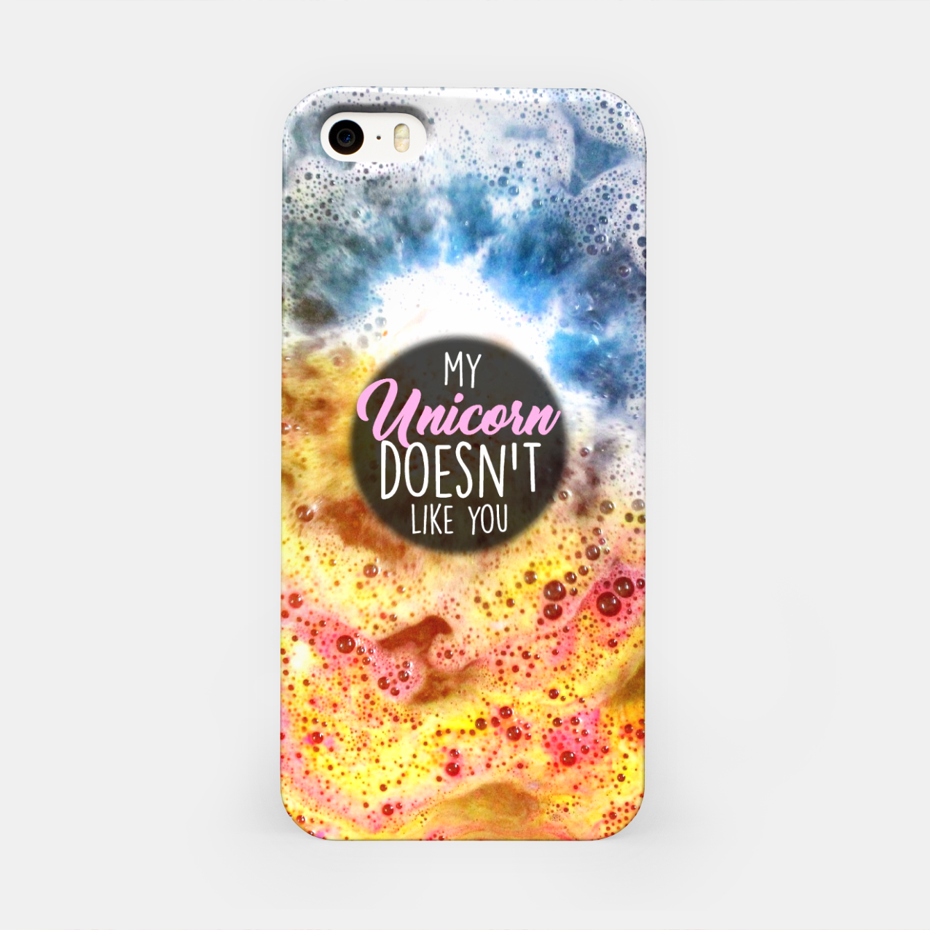Image of My Unicorn Doesn't Like You iPhone Case - Live Heroes