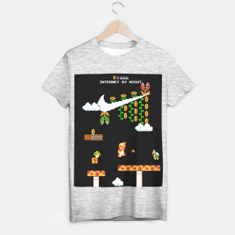 Thumbnail image of Super Mario Bros - NES Aesthetic T-shirt regular, Live Heroes