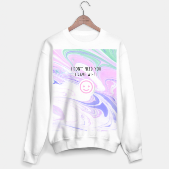 Thumbnail image of I Have Wi-Fi Sweater regular, Live Heroes