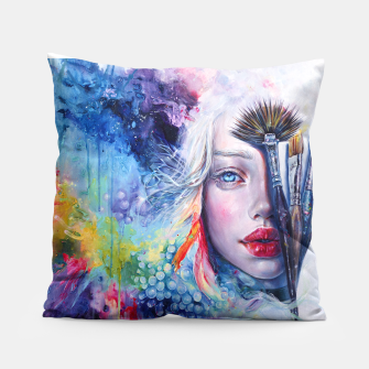 Thumbnail image of Coralized Pillow, Live Heroes