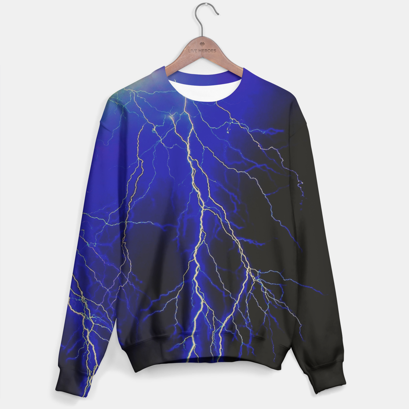 Image of Lightning Sweater - Live Heroes
