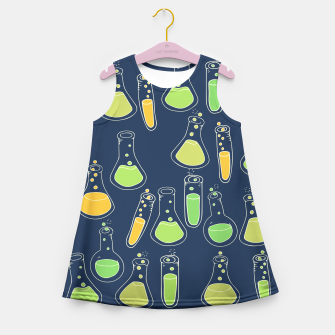 Science Geek Girl's Summer Dress thumbnail image