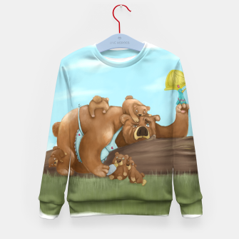 Miniaturka Bears Family Kids Sweater, Live Heroes