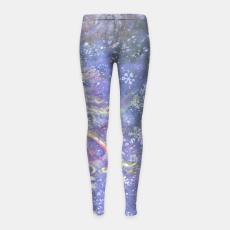 Thumbnail image of Girls' Winter Leggings, Live Heroes