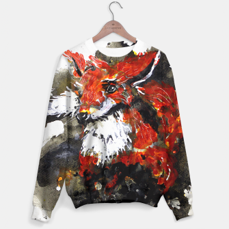 Thumbnail image of Smooth as fox Sweater, Live Heroes
