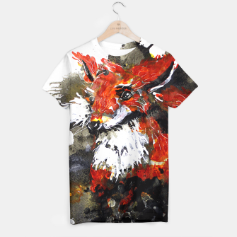 Thumbnail image of Smooth as fox T-shirt, Live Heroes