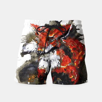 Thumbnail image of Smooth as fox Swim Shorts, Live Heroes