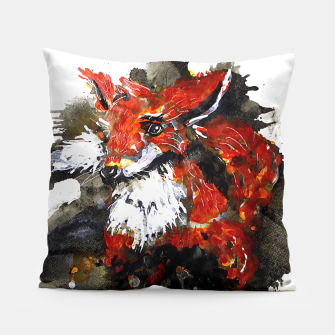 Thumbnail image of Smooth as fox Pillow, Live Heroes