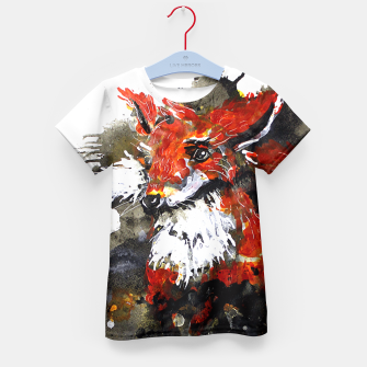 Thumbnail image of Smooth as fox Kid's T-shirt, Live Heroes
