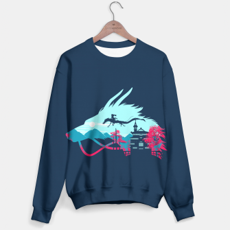Thumbnail image of Traveling in my dragon Sudadera, Live Heroes