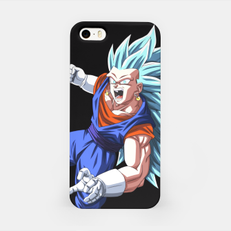 Miniatur Vegetto blue Carcasa por Iphone, Live Heroes