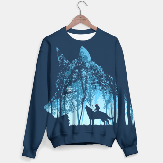 Thumbnail image of Wolf forest Sudadera, Live Heroes