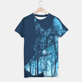 Thumbnail image of Wolf forest Camiseta, Live Heroes