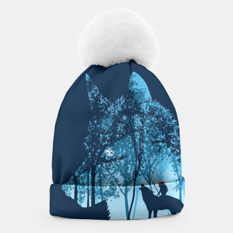 Wolf forest Gorro thumbnail image