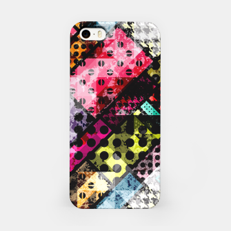 Miniatur Coloful Abstract Design  iPhone-Hülle, Live Heroes