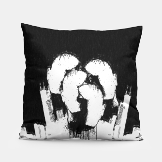 Thumbnail image of N!GHT C!TY Pillow, Live Heroes