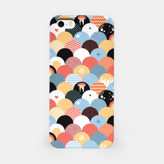 Miniatur Funny Coloful Abstract Design iPhone-Hülle, Live Heroes