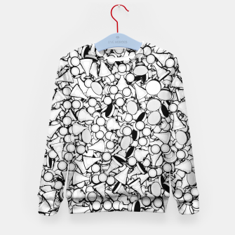 Thumbnail image of Pawn Storm B&W Kid's Sweater, Live Heroes
