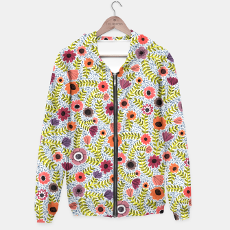 Floral by Veronique de Jong Hoodie thumbnail image