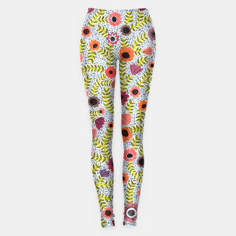 Floral by Veronique de Jong Leggings thumbnail image