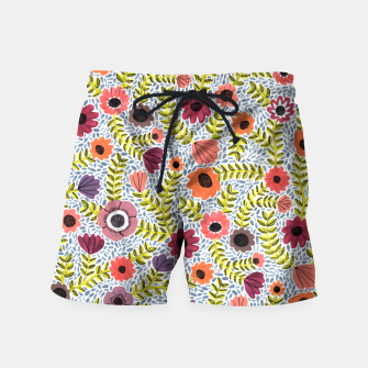 Floral by Veronique de Jong Swim Shorts thumbnail image