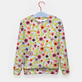 Thumbnail image of Floral by Veronique de Jong Kid's Sweater, Live Heroes