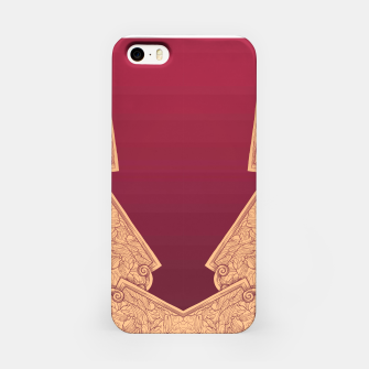 Miniatur raging fang iPhone Case, Live Heroes