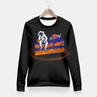 Miniature de image de Space Cake Fitted Waist Sweater, Live Heroes