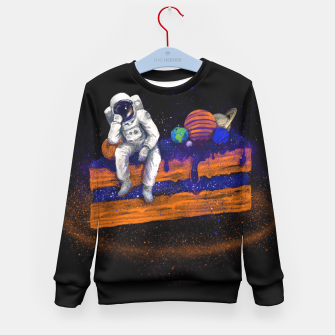 Thumbnail image of Space Cake Kid's Sweater, Live Heroes