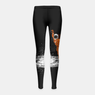 Miniature de image de Space Dance Girl's Leggings, Live Heroes