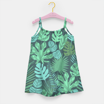 Miniaturka Tropical plantation Girl's Dress, Live Heroes