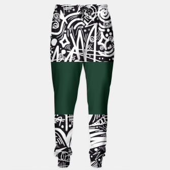 Thumbnail image of Chalk Board Halfway Sweatpants, Live Heroes