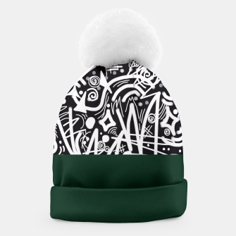 Thumbnail image of Chalk Board Halfway Beanie, Live Heroes