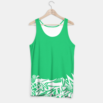Thumbnail image of Inked Snow Tank Top, Live Heroes