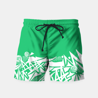 Thumbnail image of Inked Snow Swim Shorts, Live Heroes