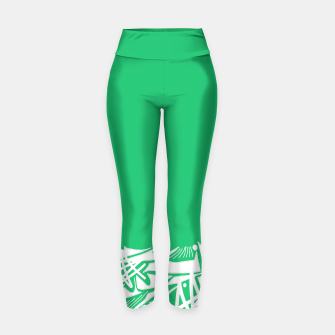 Thumbnail image of Inked Snow Yoga Pants, Live Heroes