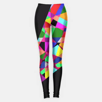 Thumbnail image of Crushed Blackout! Leggings, Live Heroes