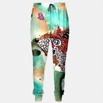 Thumbnail image of Fox and Butterfly Sweatpants, Live Heroes