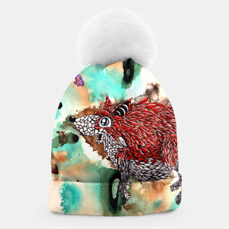Thumbnail image of Fox and Butterfly Beanie, Live Heroes