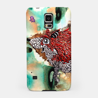 Thumbnail image of Fox and Butterfly Samsung Case, Live Heroes